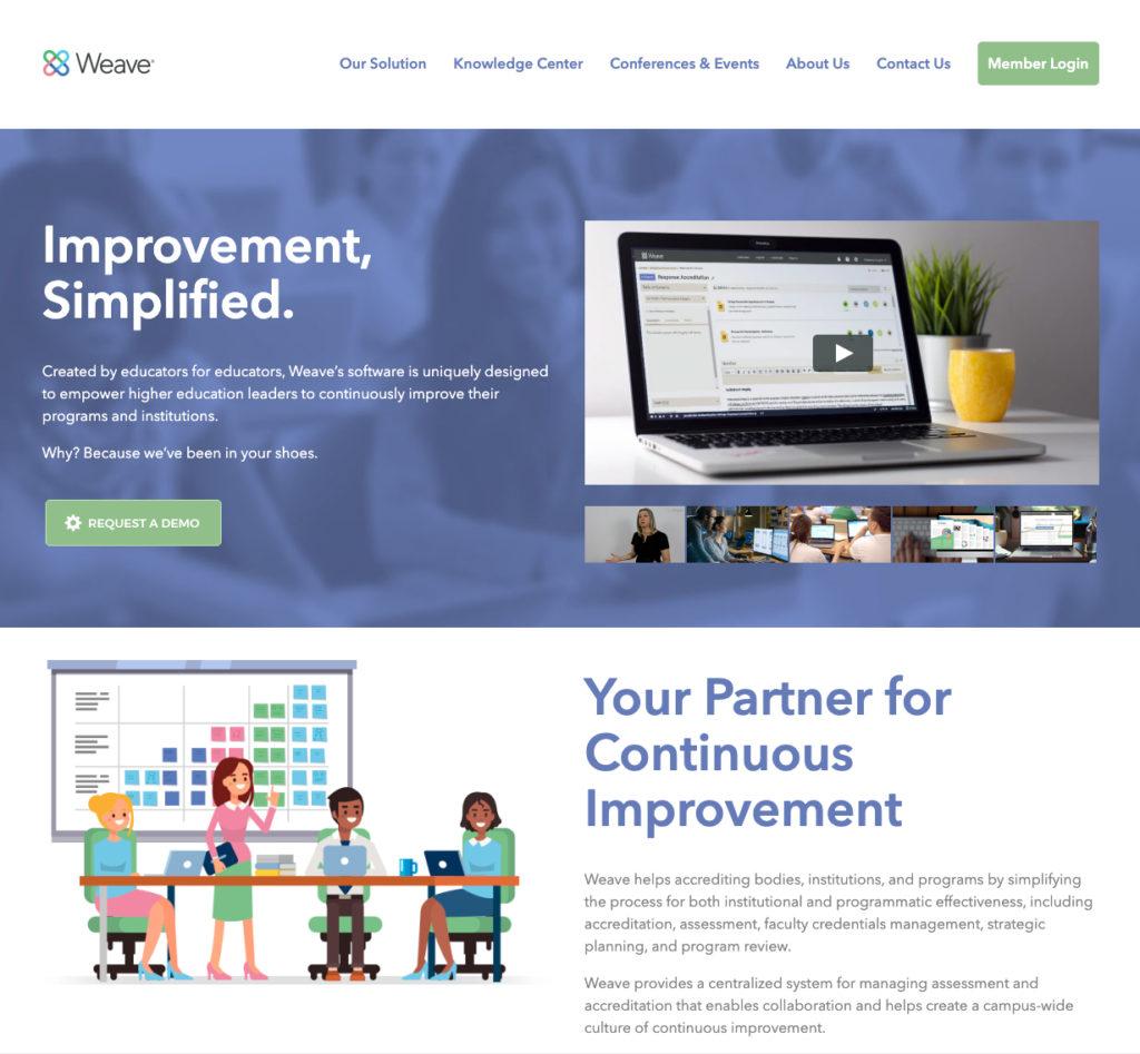 Weave-website
